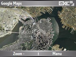 Google Maps Windows Mobile Smartphone Edition