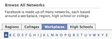 Facebook Networks