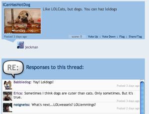 LOLDogs discussion at Babbledog
