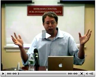 Chris Kelty at Berkman Luncheon Series