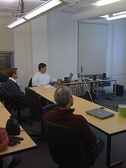 Greg Rundlett presents at BostonPHP