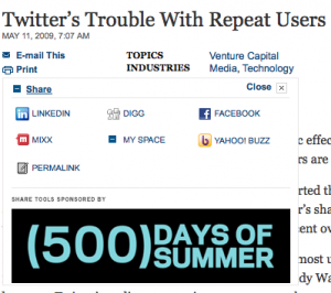 Article Tools on NYTimes.com Blogs