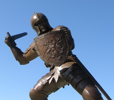 Fighing Knights - Photo by threlkelded, cc-by-nd license