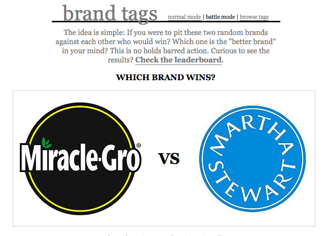 Brand Tags in Battle Mode - Which Brand Winds?