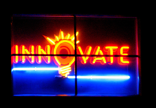 Innovate (Photo by Uncleweed, cc-by-sa license)