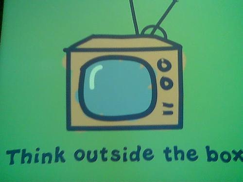 Think Outside the Box (Photo by debaird™, cc-by-sa license)
