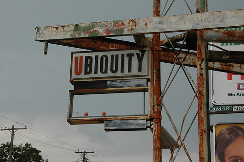 Ubiquity (Photo by Mike Willis, cc-by license)