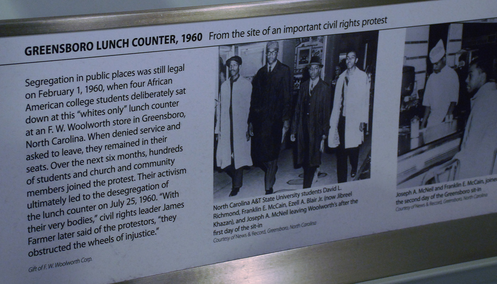 Photo by Adam Fagen of Display at the Smithsonian Museum of American History - http://www.flickr.com/photos/afagen/3155132290/