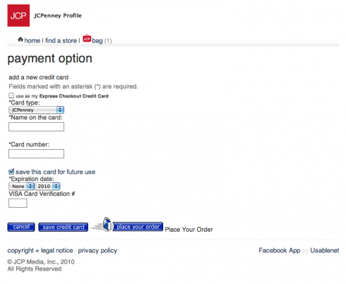 jcpenney credit card services login - Jcpenney Rewards Credit Card