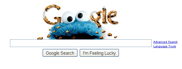 Google Cookie Monster from November 2009 - from Web Pro News