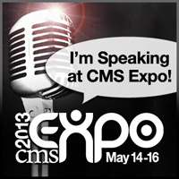 For $100 off a three-day conference registration at CMS Expo use code CMSX54417